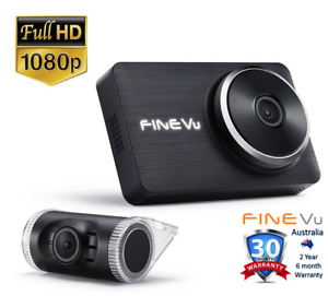 "FineVu LX2000 Dashcam 2CH - Full HD, 32GB, 3.5"" IPS Touch"