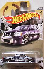 Hot Wheels Rad Camión Serie 2016 Nissan Titan Negro 1:64