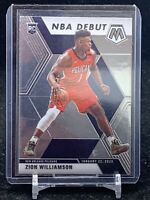 2019-20 Panini Mosaic NBA Debut Zion Williamson Rookie RC #269 Pelicans
