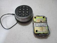 2 X KABA MAS HIGH SECURITY ELECTRONIC LOCK MODEL 4100D410-00 TYPE 1