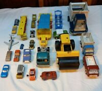 Vintage Toy Cars Tonka Matchbox Hot Wheels Hubley Tootsie toy Metal Cars