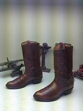 VINTAGE RED WING BROWN DISTRESSED LEATHER WESTERN COWBOY ENGINEER TRAIL BOOTS 9M