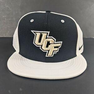UCF Knights Football NCAA Zephyr Big Rig Trucker Black Hat Cap Nike Fitted 7 3/8