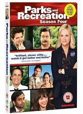 Parks and Recreation Complete Series 4 DVD All Episodes Fourth Season UK NEW R2