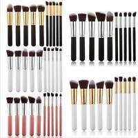 10pcs Professional Makeup Cosmetics Brushes Foundation Eyeshadow Brush Set - LD
