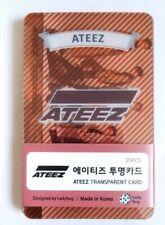 ATEEZ Transparent Photo Card 25 Pcs KPOP MinGi JongHo HongJoong WooYoung YoonHo
