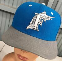 Florida Marlins MLB New Era 7 1/4 Fitted Baseball Cap Hat