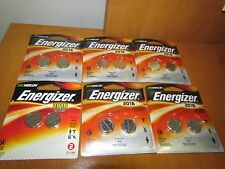 Lot of 6 packs x Energizer CR 2016 Lithium Coin 3V Batteries 2016BP-2