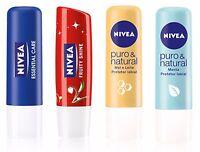 Nivea Moisturising Lip Balm and Lip Butter