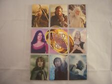 Lord of the Rings Return of the King R1-R9 Trading Cards Set