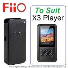 Genuine FiiO Leather Protective Case Cover Protector Guard For FiiO X3 DAP