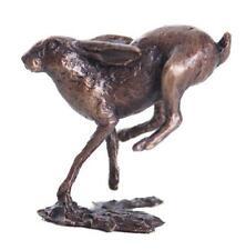 Butler & Peach Piccolo bronzo solido dettagliate in esecuzione Lepre