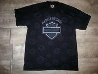 Vintage 90s Harley-Davidson Stratman Screen Print TShirt Tee Men's Size Medium