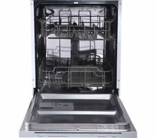 Currys Essentials CID60W16 Full-size Integrated Dishwasher With LED Indicators