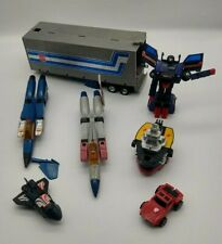 Vintage 1980's Transformers Toy Lot