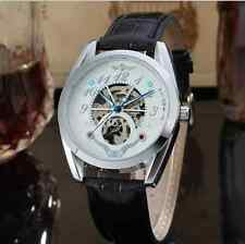 Luxury Automatic Mechanical PU Leather Watch