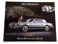 1982 Oldsmobile Toronado Original Canada Car Sales Brochure Folder