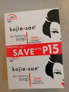 Authentic Kojie San Kojic Acid Skin Lightening Soap Bars Kojiesan Whitening