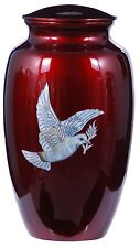 Pearl Dove 210 Cubic Inches Large/Adult Funeral Cremation Urn for Ashes