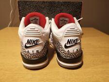 Mens Air Jordan 3 'White Cement' 2013 'Nike Air' 88s - UK7 - 100% Genuine