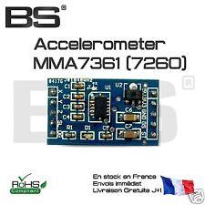 MMA7361 3 axis accelerometer module accéléromètre 3 axes Arduino Pi STM32 ESP