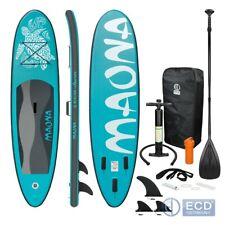 Surfboard Stand Up Paddle SUP Board Maona Paddelboard aufblasbar Türkis 308 cm