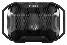 Philips ShoqBox Portable Stereo Wireless Bluetooth Waterproof Speaker/Mic/Lights
