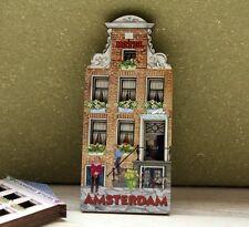 Niederlande Amsterdam Hotel Reiseandenken Hölzern Kühlschrankmagnet Magnet