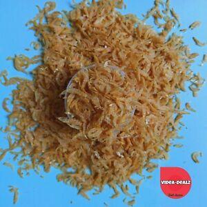 100g Natural Dried Shrimp Krill Feed for Aquarium Tank Fish Food Betta Turtles