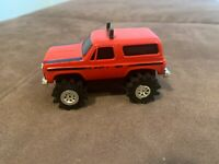 Vintage Schaper Stomper 4x4 Red Chevy Blazer Light Works