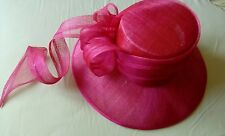 PINK HAT SUITABLE FOR WEDDINGS / SPECIAL OCCASIONS VGC BY PLATINUM