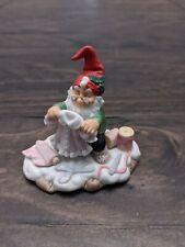 Fitz and Floyd Holiday Hamlet Doll Maker no box Christmas Figurines