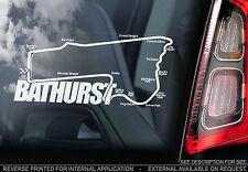 Bathurst-Finestra Auto Adesivo-Mount Panorama circuito TRACK 1000 Peter Brock