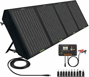 60W120W Pannello Solare Pieghevole per Generatore Solare Portatile e Batteria