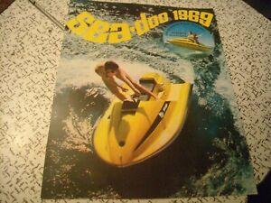 1969 Vintage Bombardier SEA DOO Watercraft Brochure Boat SKI DOO