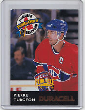 MINT1996 PINNACLE DURACELL JEAN BELIVEAU ALL-STAR #JB14 PIERRE TURGEON CANADIENS