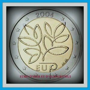 2 Euro Finlande  2004 commémorative  UNC Elargissement de l'Union européenne