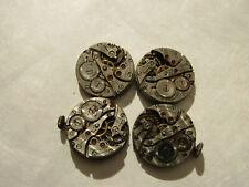 8 swiss watch movement parts for repair Depollier Pierce meda Rensie champagne