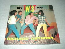 RICHARD ANTHONY CD DIGIPACK FRANCE LET'S TWIST AGAIN