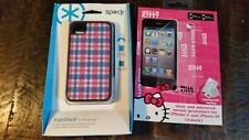 Speck Fabshell Fabric Case for Apple iphone 4 / 4S w/ 2 Screen Protetoctors
