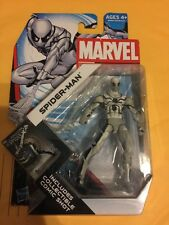 "MARVEL UNIVERSE 3 3/4"" WHITE SPIDERMAN FIGURE 014"