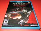 Ninja Gaiden 3: Razor's Edge Nintendo Wii U *Factory Sealed! *Free Shipping!