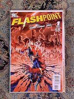 Flashpoint 1 Rare Red 2nd Print 1st Full Thomas Wayne Batman DC NM