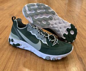 Nike React Element 55 Michigan State Spartans MSU Shoes CK4845-300 SZ 14