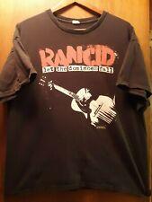 Rancid- Let The Dominoes Fall Lic Oop Black T-Shirt- Xlarge