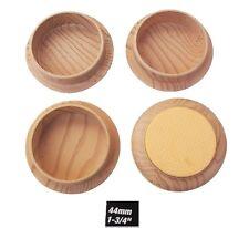 4 x legno lightgrain castorcups Non Slip Floor Protector GOMMA BASE ANTI GRAFFIO