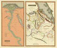 Egypt Abyssinia - Thomson 1817 - 23.00 x 27.21