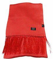 Tootal Vintage Parka Red 100% Silk Scarf …