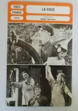 CARTE FICHE CINEMA 1923 LA ROUE Séverin Mars Ivy Close Gabriel de Gravone