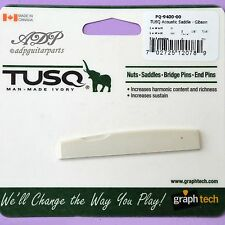 PQ-9400 SILLET CHEVALET GIBSON ACOUSTIC GUITAR GraphTech IVORYTUSQ Bridge saddle